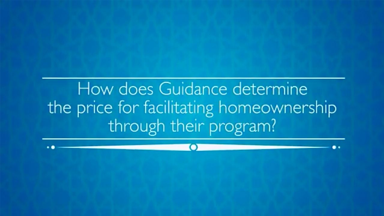 HOW DOES GUIDANCE RESIDENTIAL DETERMINE THE PRICE FOR FACILITATING HOME OWNERSHIP THROUGH THEIR PROGRAM?