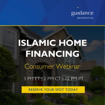 Islamic home financing consumer webinar